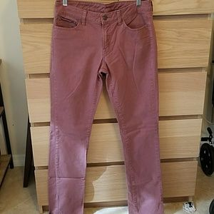 Worn once! Uniqlo red jeans
